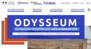 Odysseum, la maison numérique des humanités est en ligne :)