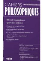 Rêve et imagination : approches antiques