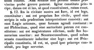 Usages juridiques du passé, dans la pensée des juristes romains #5 : La double origine du droit à Rome et l'histoire réduite à la terminologie dans le manuel de Pomponius