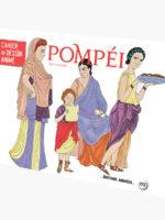 Cahier de dessin animé - Pompéi