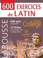 600 exercices de latin
