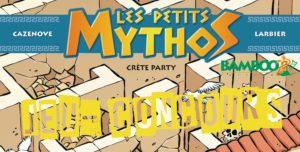 Résultats du Jeu-Concours - Les Petits Mythos, tome 11 : Crète Party