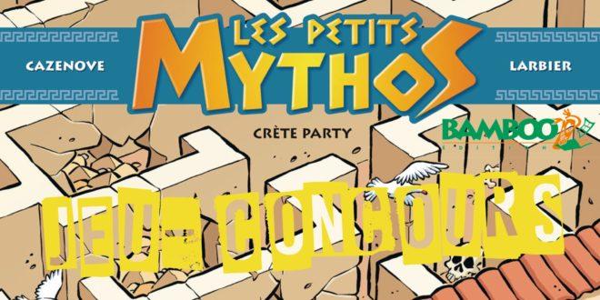 Jeu-Concours – Les Petits Mythos, tome 11 : Crète Party