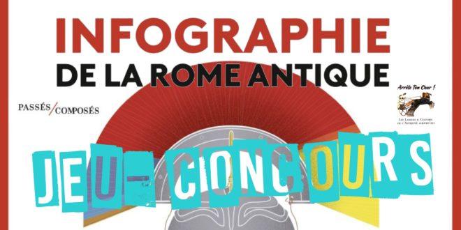 Jeu-Concours : Infographie de la Rome Antique (éditions Passés Composés)