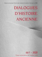 Dialogues d'histoire ancienne 46/1 - Entre violence et anomie dans le monde antique 2/3