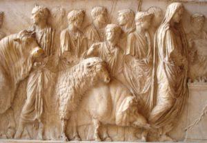 Fiche civi sur les temples et les sacrifices à Rome