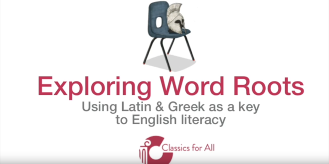 Videos : Word roots