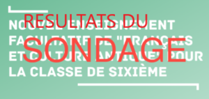 """Option """"français - culture antique"""" - résultats de notre sondage"""