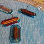 Touché – coulé: jeu de plateau sur les naumachies