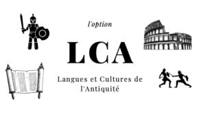 Un flyer pour le recrutement des latinistes