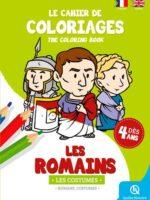 Cahier de coloriages : les costumes des Romains
