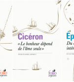 Cicéron, Épictète et Marc Aurèle chez Folio Sagesses