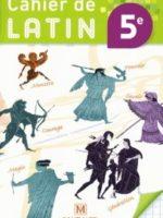 Cahier de latin 5ème