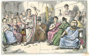 Grand oral, une histoire de l'éloquence - #1 : L'invention de la rhétorique, quand le discours devient une arme