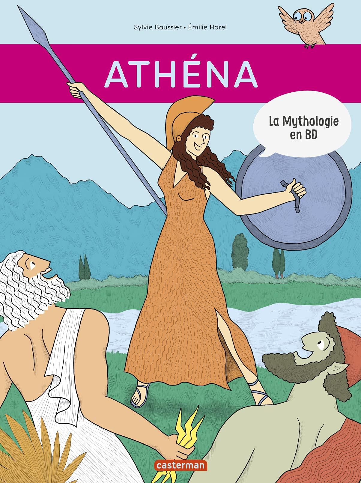 La Mythologie en BD : Athéna