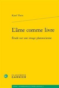 L'âme comme livre : Étude sur une image platonicienne