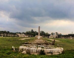 Un temple romain émerge des ruines de Tyr