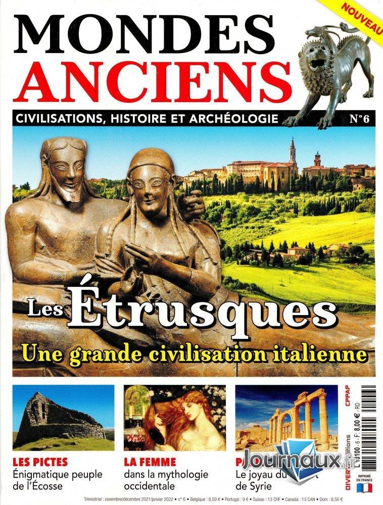 Mondes Anciens #6 - Les Étrusques, une grande civilisation italienne